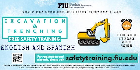 FREE Training on Excavation and Trenching Hazards tickets