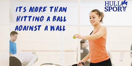 Welcome week female squash tickets