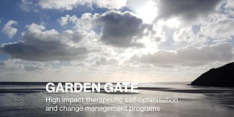 2 Day Couple Program: Garden Gate Therapeutic Self-Optimisation tickets