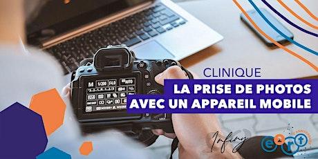 Clinique Infiny - Les photos avec un appareil mobile billets