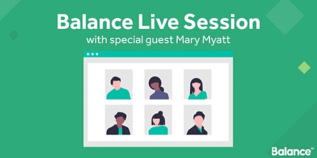 Balance Live Session - Mary Myatt - Free CPD -5th October 2020 tickets