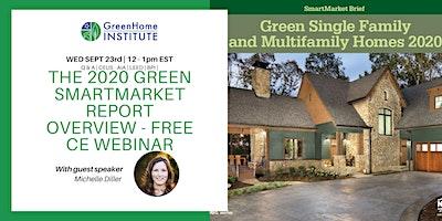The 2020 Green SmartMarket Report Overview – Free CE Webinar