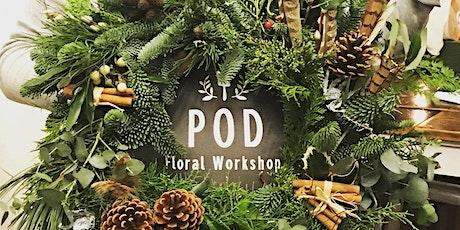 Christmas Door Wreath Workshop tickets