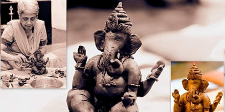 Clay Ganesha Making - Online Session Aug 21 tickets