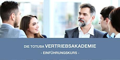 Seminar: Vertriebsakademie - Einführungskurs Tickets
