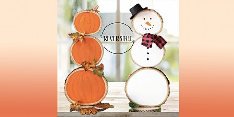 Reversible Pumpkin/Snowman: Sip and Craft at Magnanini Winery tickets