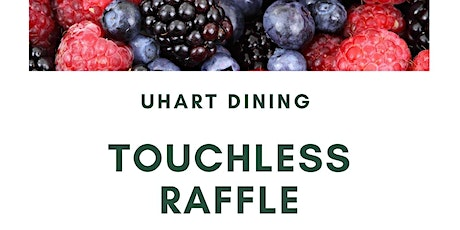 Touchless Raffle tickets