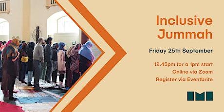 Online Jummah Prayer with Inclusive Mosque Initiative tickets