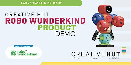 Robo Wunderkind - Online Demo - Primary Computing + Cross Curricular tickets
