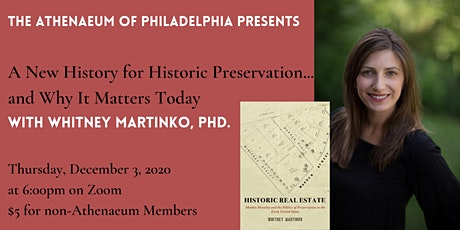 A New History for Historic Preservation... and Why It Matters Today tickets