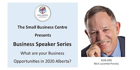 Business Speaker Series - September 24, 2020 @ 7 PM tickets