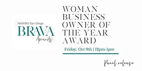 NAWBO BRAVA Awards - Women Biz Owner of the Year: Show Release tickets