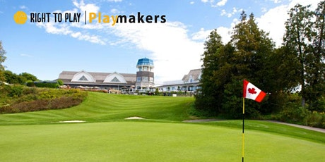 Playmakers Golf Tournament in Support of Right To Play tickets