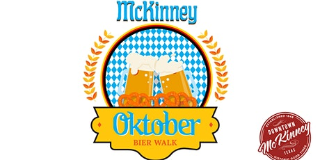 McKinney Oktober Bier Walk presented by Davis at the Square tickets