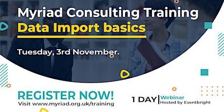 Unit4 ERP Data Import  Basics Training Course tickets