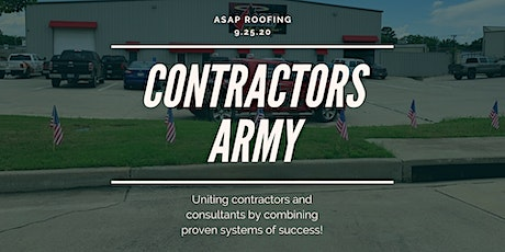 Contractors Army Seminar tickets