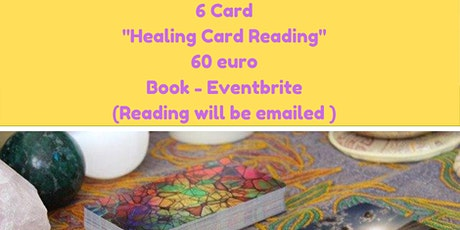 6 Card Healing Card Reading by Caroline tickets