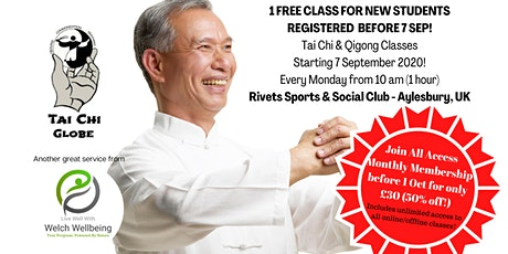 Aylesbury Tai Chi & Qigong Beginners Classes tickets