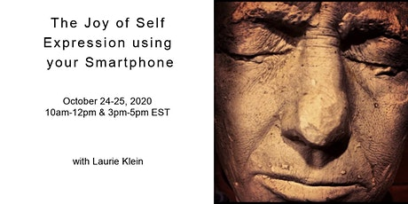 The Joy of Self Expression using your Smartphone Virtual Workshop tickets