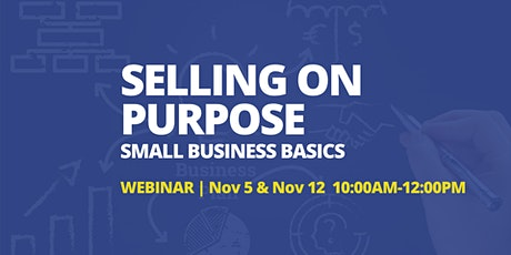 Selling  on Purpose - Sales Webinar tickets