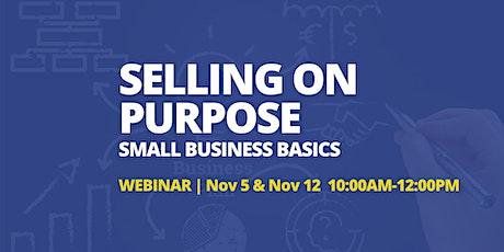 Selling  on Purpose - Sales Webinar