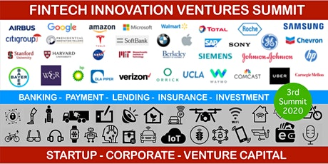 FinTech Innovation Ventures  Summit (Third Edition) tickets