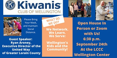 Wellington Kiwanis Open House tickets