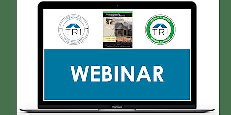 Sept 29, 2020 - TRI Manual Certification Webinar tickets