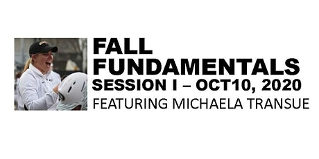 FALL FUNDAMENTALS with MICHAELA TRANSUE tickets