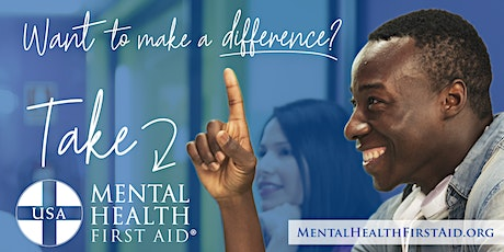 Virtual Mental Health First Aid - October 2020 tickets