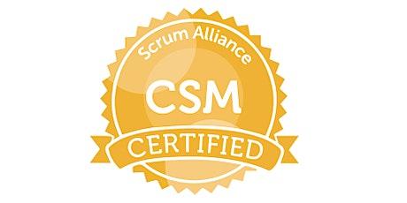 Certified Scrum Master (CSM) Virtual Training from  BONSY YELSANGI tickets