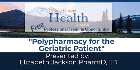 """Polypharmacy for the Geriatric Patient"" tickets"