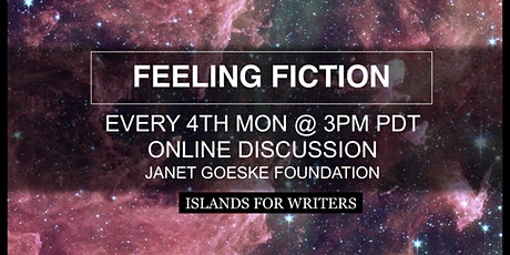 Feeling Fiction:  Feeling your Way To Short Fiction tickets