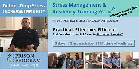 WEEKEND- 6-HOUR TRAINING OPPORTUNITY FOR CORRECTIONS STAFF (PDT) tickets