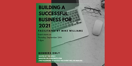 """GFBCC Mastermind- MEMBERS ONLY-""""Building a Successful Business for 2021"""" tickets"""