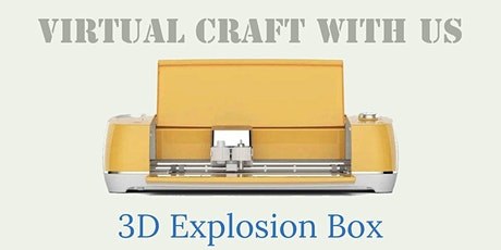 3D Explosion Box Card tickets