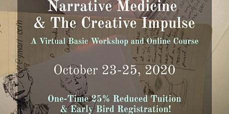 Narrative Medicine & The Creative Impulse tickets