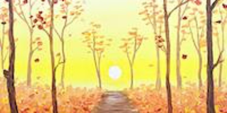 Autumn Forest Path Painting Party tickets
