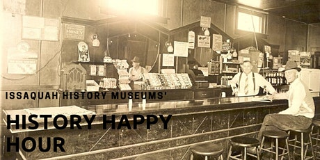 December Issaquah History Happy Hour tickets