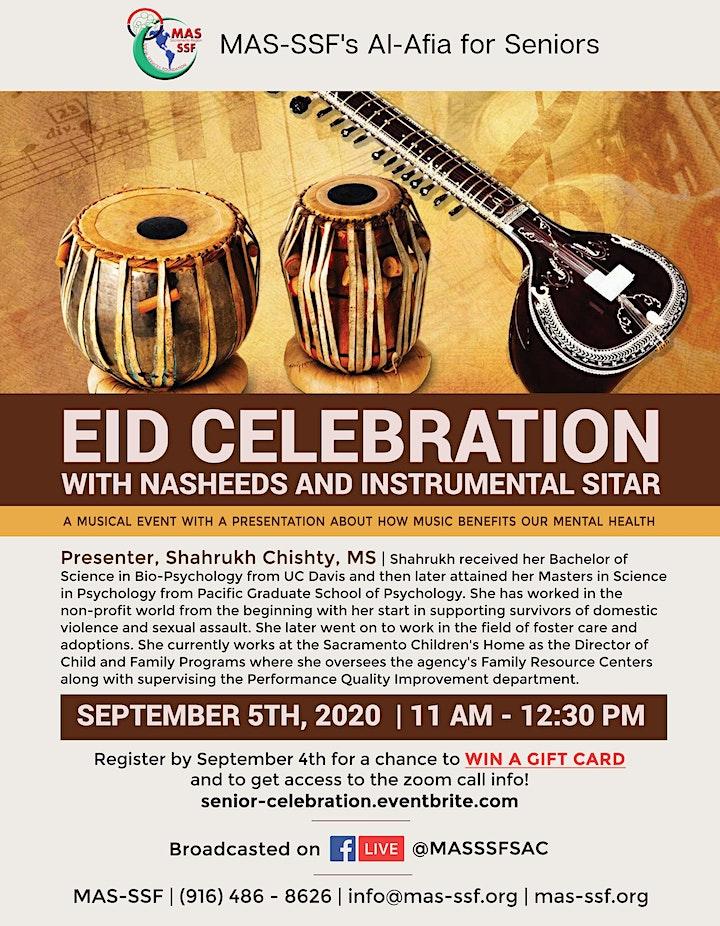 Eid Celebration with Nasheeds and Instrumental Sitar image
