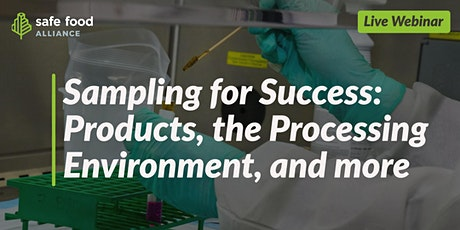 Sampling for Success: Products, the Processing Environment, and More tickets