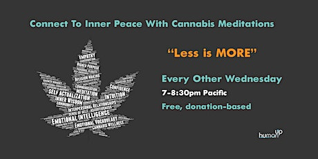 """Semimonthly Group Cannabis Meditation """"Sesh-Ins"""" tickets"""
