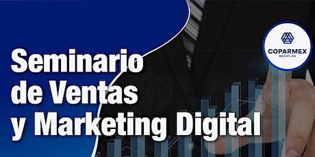 Seminario de Ventas y Marketing Digital boletos