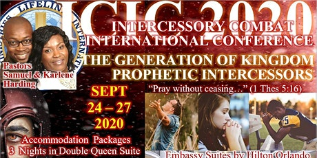 "ICIC 2020 - ""The Generation of Kingdom Prophetic Intercessors"" tickets"
