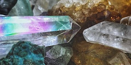 Cristallogia (ex cristalloterapia) livello 4 biglietti