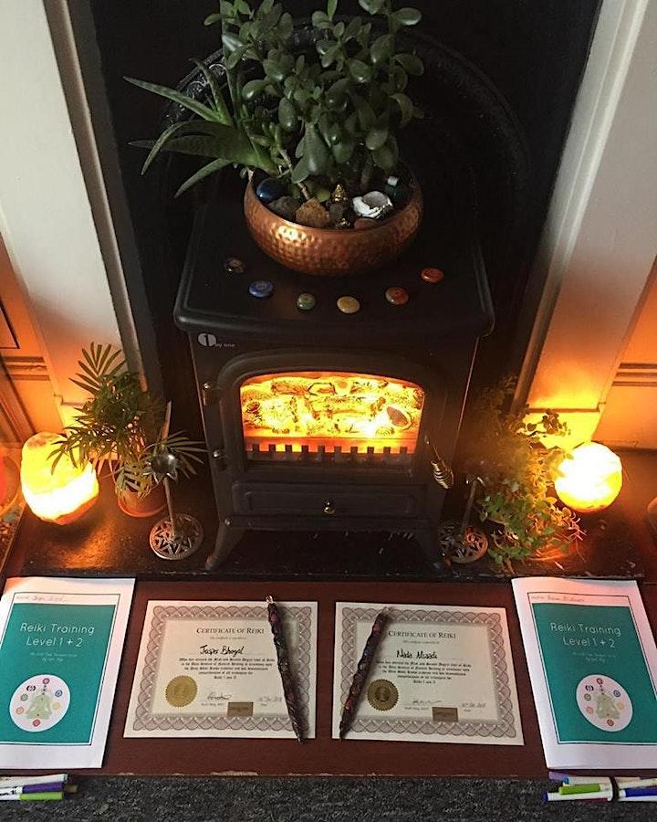 REIKI TRAINING AT MYSTICAL GLASTONBURY (Level 1 & 2 Combined certificate) image
