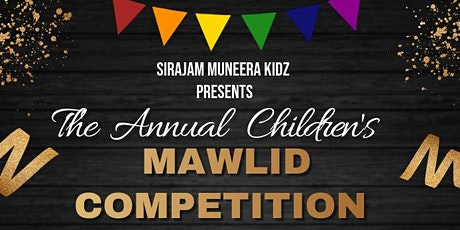 Sirajam Muneera Mawlid Competition tickets