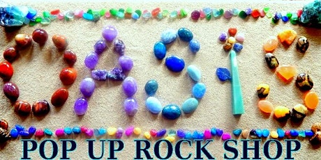 """Oasis Pop Up Rock Shop """" Get your Rock ON """" tickets"""