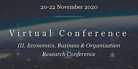 3. Economics, Business & Organization Research Conference tickets