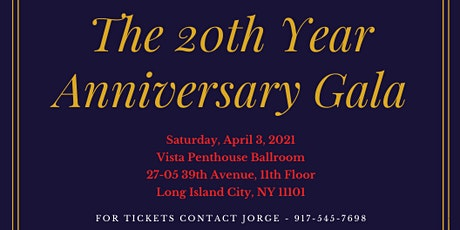 Alpha Gamma's The 20th Year Anniversary Gala tickets